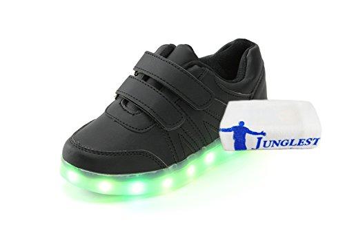 [Present:kleines Handtuch]JUNGLEST 7 Farben LED Kinder, Jungen, Mädchen führte leuchten Trainer Sneakers Turnschuhe Sportschuh c9