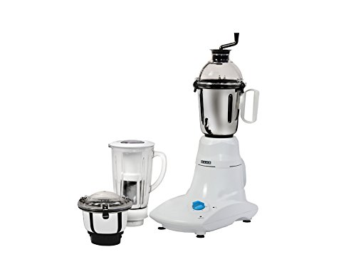 Usha MG 2573 Stainless Steel Mixer Grinder (White)
