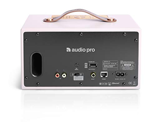 Audio Pro Addon C5 Altavoz (25 Watt, Multiroom, Stereo, WiFi, Bluetooth, App,...