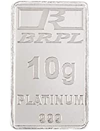 Bangalore Refinery 999 Purity Gram 10 g Platinum Bar