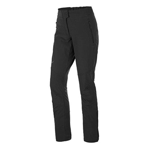Salewa, agner orval dst w pnt, pantalone da alpinismo, donna, nero, 42/36
