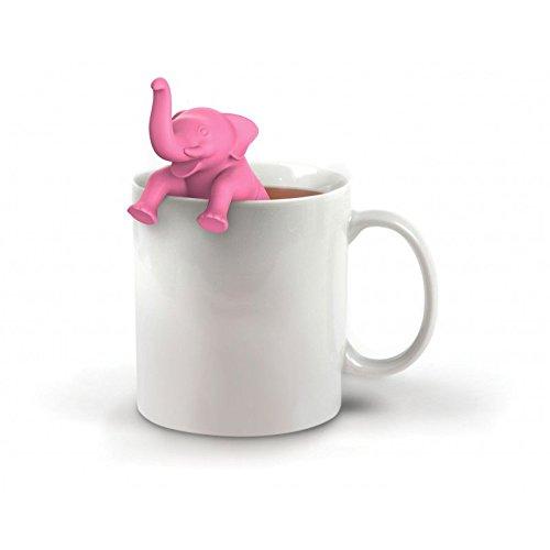 SHOP-STORY - Infuseur Éléphant Rose - Infuseur Infusion Thé Filtre Boule Eléphant Rose