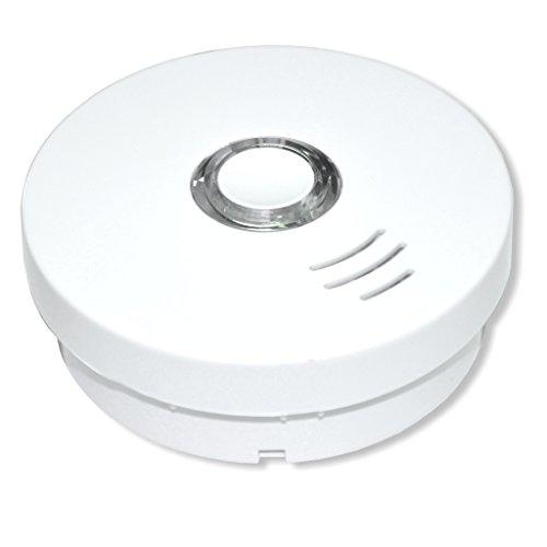 Summit Rauchmelder/Rauchwarnmelder Modell GS 508 - VdS - geprüft nach DIN EN14604 - integrierte...