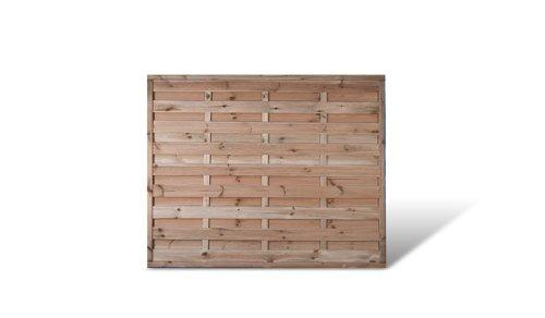 Günstiger Sichtschutzzaun Windschutz Maße 180 x 150 cm (Breite x Höhe) aus Kiefer/Fichte Holz, druckimprägniert