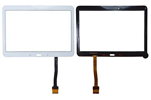 YuYue Touch Screen Digitizer Frontale Esterno Touch Glass Touch Sensore Lente con Strumenti per Samsung Galaxy Tab 4 SM-T530 T530 T530NU 10,1'Bianco