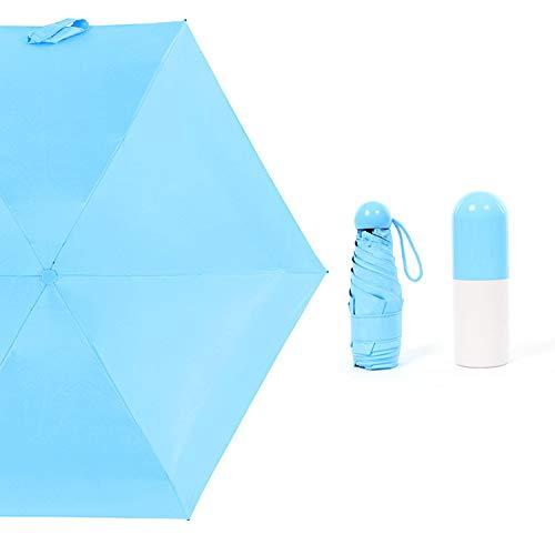 Teabelle Ultra Pequeño Ligero Anti-UV Paraguas Mini