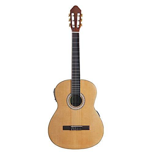 T-XYD Guitarras eléctricas acústicas Guitarras clásicas de Madera de Abeto de 40...