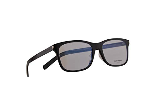 Saint Laurent SL288 Slim Gafas 54-19-150 Negras con Lentes de Muestra 001 SL 288