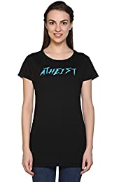Cupid Branded Comfortable Casual/Night /Yoga/Gym WEAR-Round Neck Cotton Women TEE Shirt(Available in Various Trendy Colours)