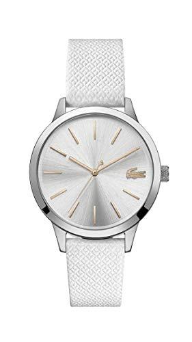 Lacoste Damen Analog Quarz Uhr mit Leder Armband 2001089 - Damen Movado Uhren