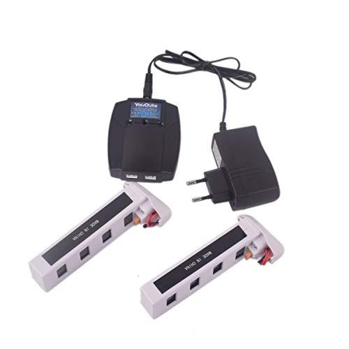 YouCute 2PCS 7.4v 1800mAh baterías y Cargador compatibles...