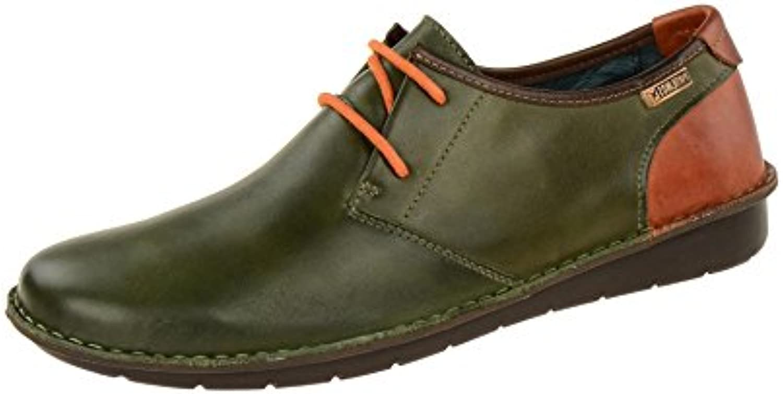 pikolinos vert profond téïa classique classique classique hommes m7b-4023c3 dentelle moitié chaussure b074tjxzdz parent 9518d6