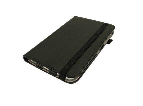 igadgitz 360° Drehbar Schwarz PU Ledertasche Hülle für Samsung Galaxy Tab 3 8.0