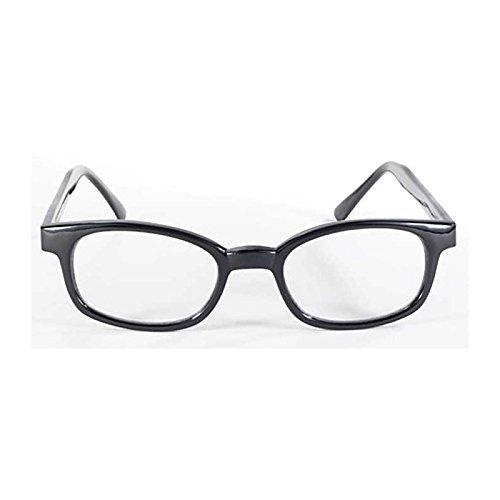 Originali occhiali da sole x-kd's clear 1015 - grande version - bikers
