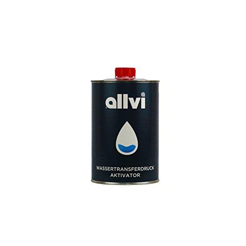 Preisvergleich Produktbild allvi® Wassertransferdruck WTD Aktivator - 1 Liter spritzfertig - Dippdivator für Folie