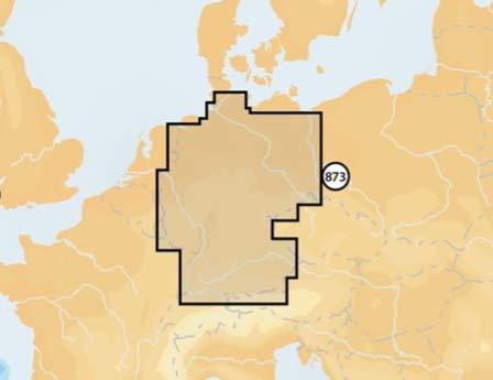 Navionics Seekarten (Navionics Deutschland Inland (Region 5G873S2), Kartenart:SD/MicroSD-Karte)