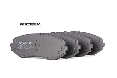 Ridex 402B0735 - Kit pastiglie freno a disco