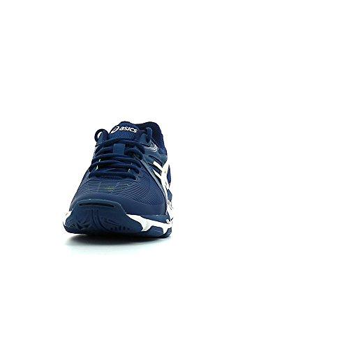 Asics Gel-Netburner Ballistic, Scarpe da Ginnastica Uomo Blu Bianco