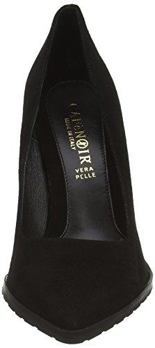 CAFèNOIR Court shoe, Damen Pumps Schwarz (010 NERO)