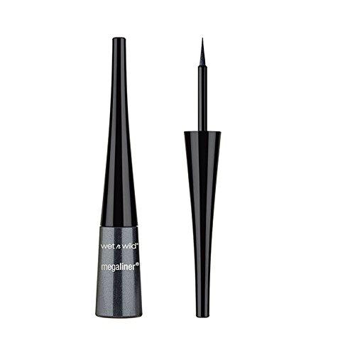 (3 Pack) WET N WILD MegaLiner Liquid Eyeliner Black