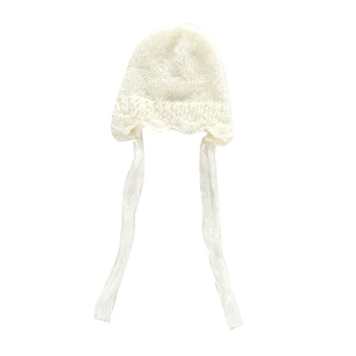 Zhhlaixing Baby Hat Cute Baby Photo Props Cotton Crochet Hat Infant Hat Newborn Photography Prop XDT-428#
