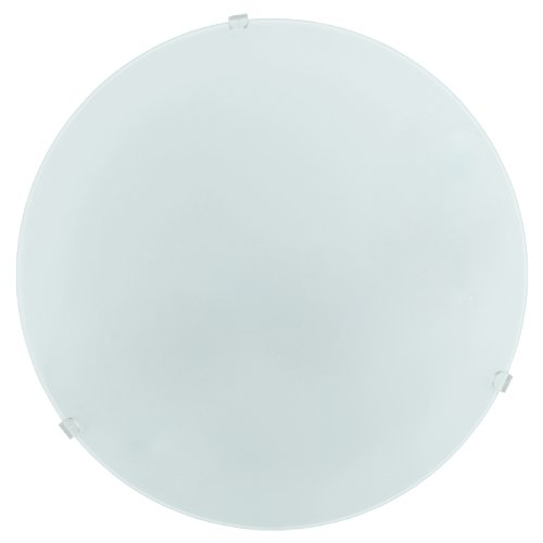 Eglo Mars - Lámpara (Cepillado, Dormitorio, Salón, Interior, E27, 60W, Color blanco)