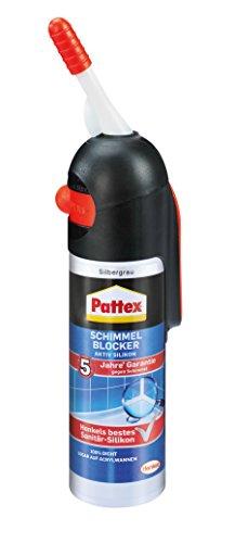Pattex Spender Schimmel-Blocker Aktiv-Silikon silbergrau, PFSSS