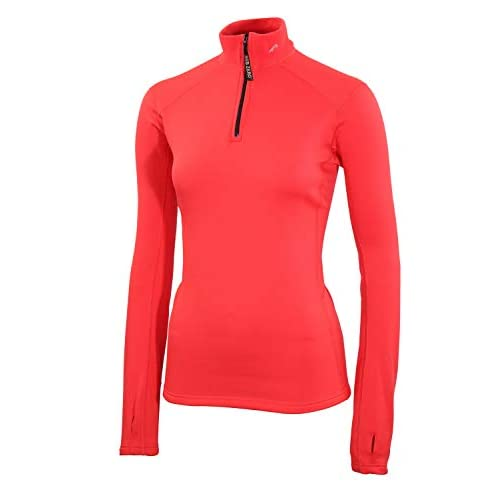 31DE4fk4cBL. SS500  - SUB ZERO Womens Factor 2 Insulating Winter Mid Layer Thermal Underwear Zip Neck Turtle Long Sleeve Top