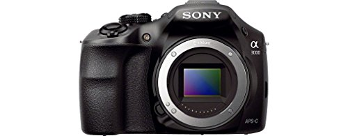 Sony ILCE3000KB a3000 E-Mount Systemkamera im SLR Gehäuse_6