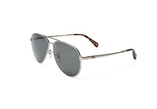 Sonnenbrille Maverick 201, 301 neue Farbe (Maverick 301 Satin Silber, eine Gr??e)