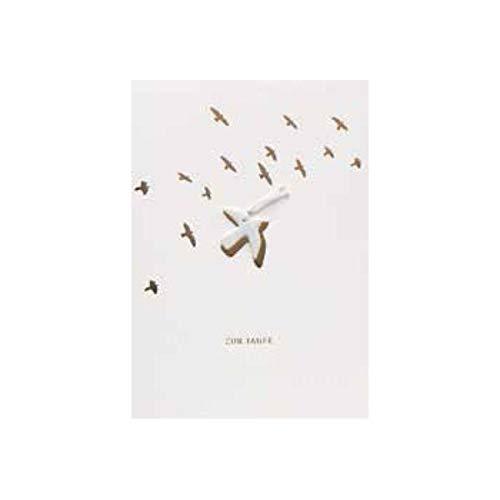 Räder Glücksbringer Taufkarte [A]