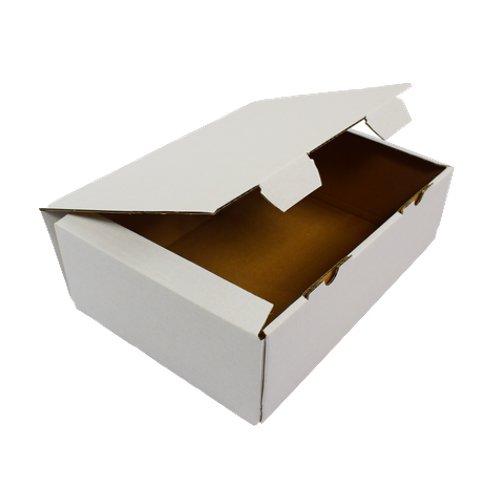 as-kartons 20 x Faltkarton Versandkarton Geschenkkarton Maxibrief kartons Post Mail Box Weiss