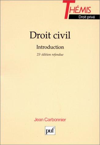 Droit civil : Introduction