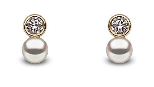 Kimura pearls Orecchini a perno Donna oro_giallo - TEP0015-25