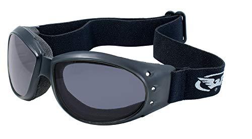 Global Vision Eyewear Eliminator Schutzbrille mit Mikrofaser-Beutel, Smoke