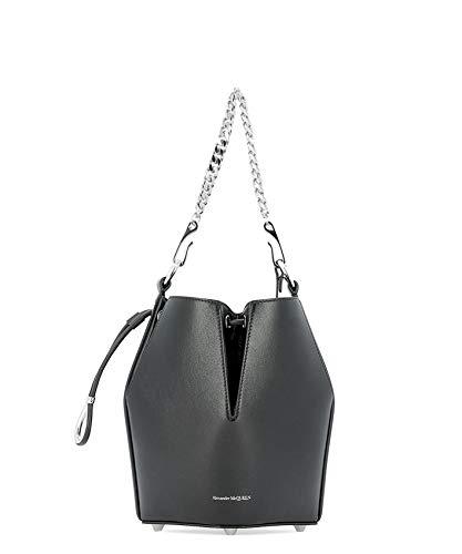 Alexander McQueen Luxury Fashion Donna 5541430SI0I1000 Nero Borsa A Spalla | Primavera Estate 19