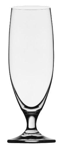 Stölzle Lausitz 0,3l Biertulpe der Serie Imperial, 375ml, 6er Set, formschöne Biergläser, funktionelle Bierseidel