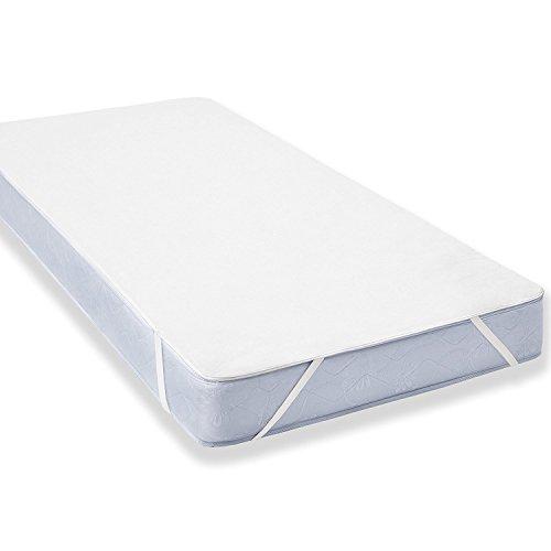Wasserdichter Matratzenschoner für Kinder (60x120cm) - Babybett Atmungsaktiv, Anti-Allergisch gegen Milben und Schimmel - Matratzenbezug mit neuartiger Behandlung: Optimaler Schutz (Kinderbett Und Matratze)