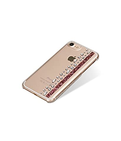 Bling My Thing IP7 HM CL GLD Hermitage Series Luxury and Unique Design Original Fashionable Phone Case For Apple iPhone 7, Swarovski rose gold plated