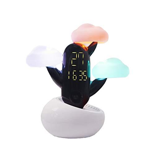 SXY-Relojes meteorológicos Inteligente Reloj electrónico de pronóstico