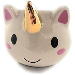 WoW-store DIVERTIDA TAZA en forma de dibujos animados de unicornio, caballo arco iris Taza de café, regalo de niñas