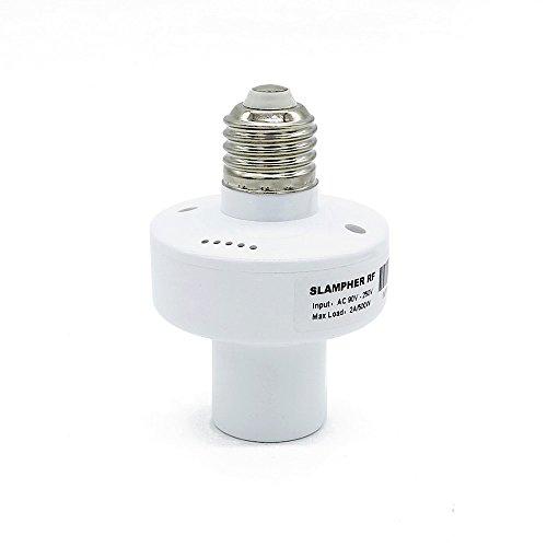 Porta lampada intelligente Sonoff Slampher, 433MHz RF & WiFi Controllo Remoto Porta...