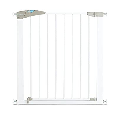 Lindam Sure Shut Axis Pressure Fit Safety Gate 76 - 82 cm, White  YHDD
