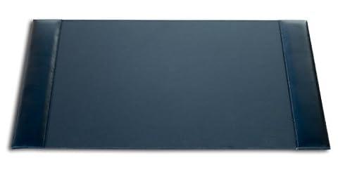 Dacasso Bonded Leather Desk Pad, Black, 30 x