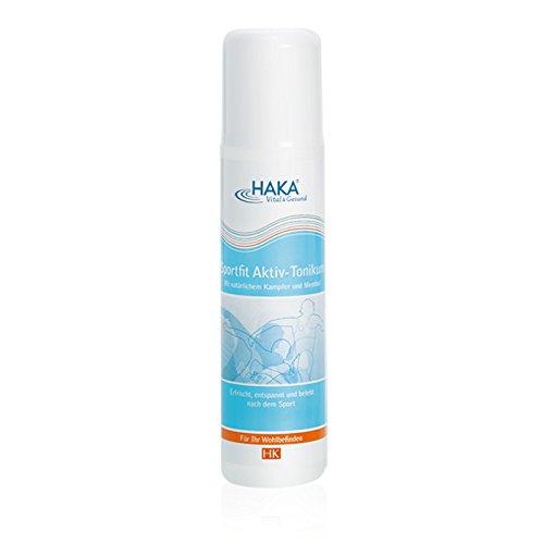 HAKA Tonikum Sportif Aktiv I 200ml I Kühlendes Tonikum für müde Beine I Erfrischend, entspannend und belebend nach Sport und...