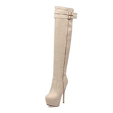 A&N , Damen Chukka Boots , beige - beige - Größe: 41