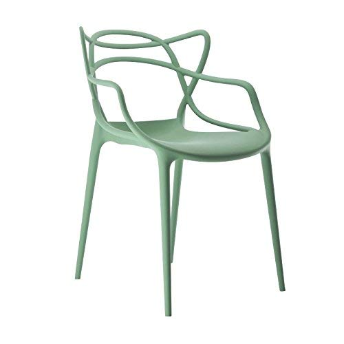 Kartell 586514 Masters - Silla, Color Verde
