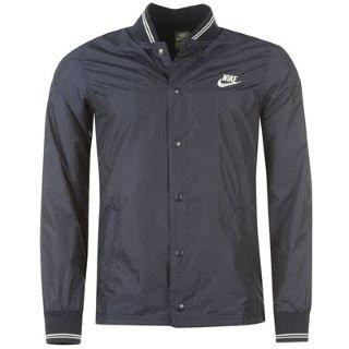 Nike, Giacca Uomo Oxford Coaches Blu - blu annerito