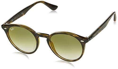 Ray-Ban Herren 0RB2180 710/W0 51 Sonnenbrille, Havana/Gradientgreenmirrorred,