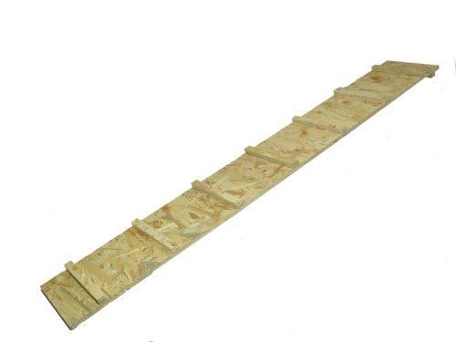 Elmato 10361 Holzrampe für Hasenställe und Freilaufzaun